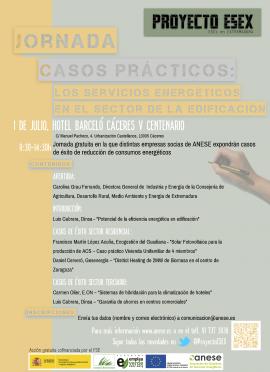 ANESE jornada Cáceres 1 de julio
