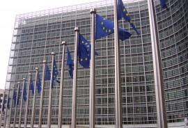 Banderas_europeas_en_la_Comisión_Europea