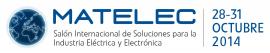 Logo Matelec 2014 Fechas