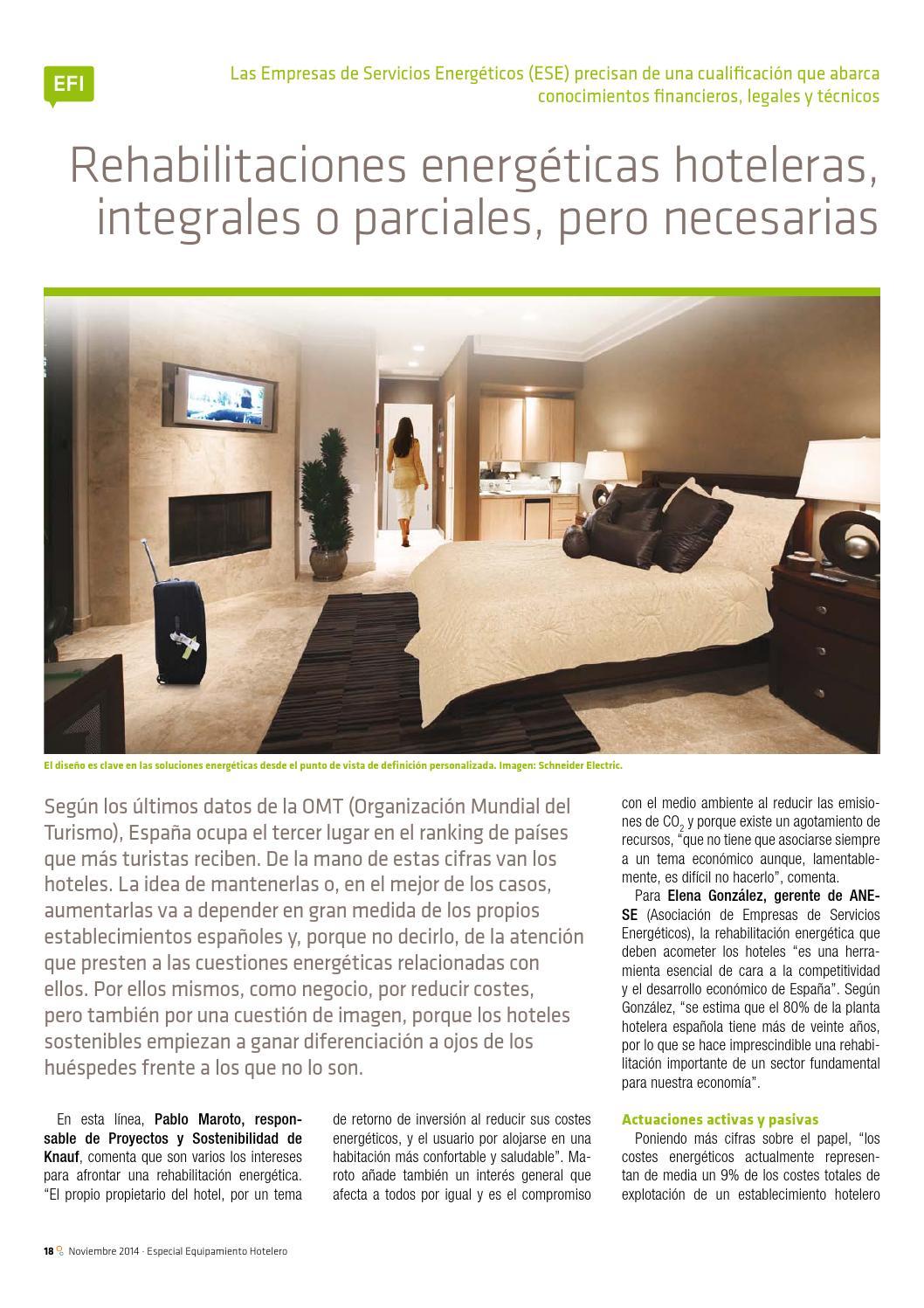 eficiencia energética hoteles