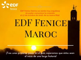 EDF marruecos