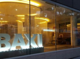 Baxi showroom