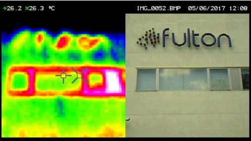 Camara termografica oficinas centrales