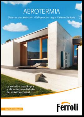 Portada Catálogo Aerotermia 2017