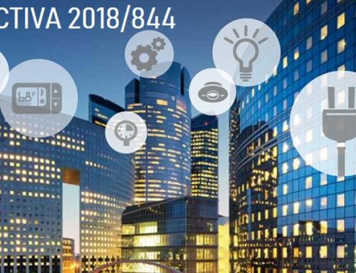 Publicada la Directiva 2018/844 que modifica las Directivas 2010/31/UE, relativa a la eficiencia energética de los edificios,  y la 2012/27/UE, relativa a la eficiencia energética