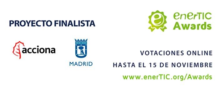 """ACCIONA, finalista en los premios """"enerTIC Awards"""" en la categoría Smart Cities"""