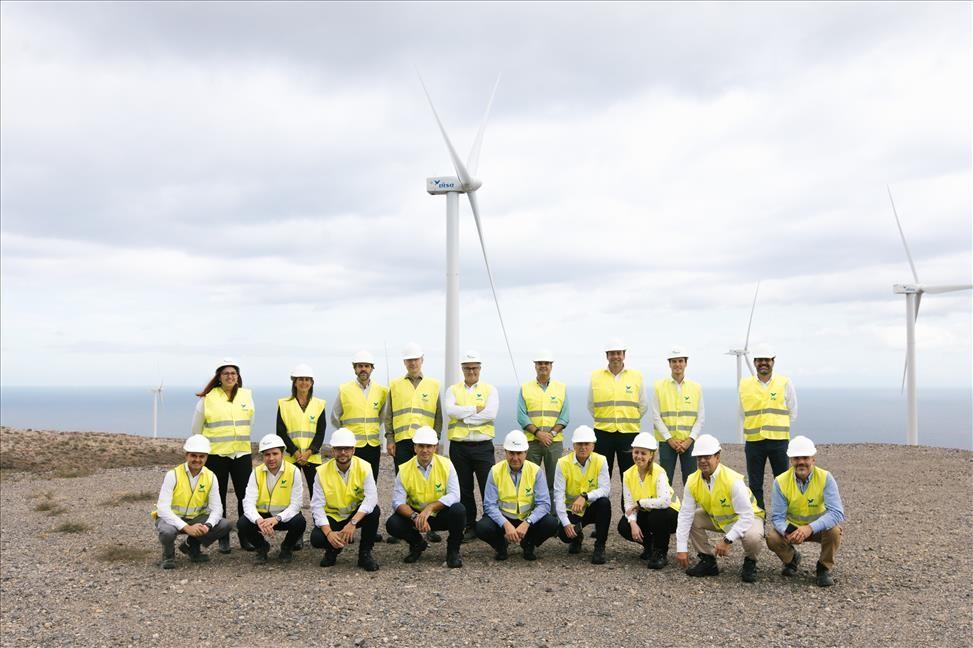 ajasiete reduce sus emisiones de CO2 y ahorra con la electricidad 100% renovable de DISA