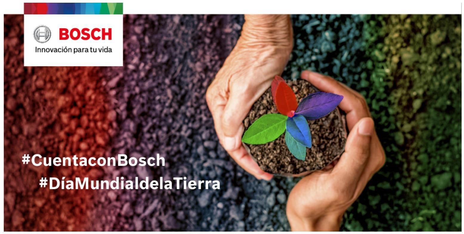 Día de la Tierra: Bosch planta mil árboles para crear un mundo más verde