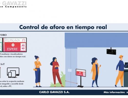 Carlo Gavazzi presenta una solución de control de aforo automatizado en tiempo real