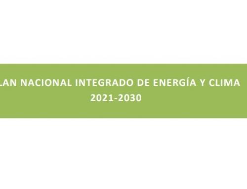 El Gobierno envía a la Comisión Europea el Plan Nacional Integrado de Energía y Clima (PNIEC) 2021-2030