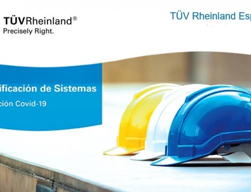 TÜV Rheinland sigue apostando por su certificación de sistemas en tiempos del COVID-19