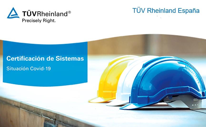 TÜV Rheinland sigue apostando por su certificación de sistemas en tiempos del COVID-19.