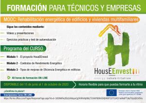 Curso on´line: MOOC - Rehabilitación energética de edificios