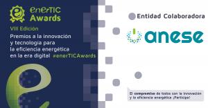 ANESE vuelve a apoyar la Plataforma enerTIC en sus premios