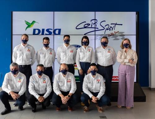 DISA Copi Sport presenta el nuevo Ford Fiesta R5 de Enrique Cruz y Yeray Mújica