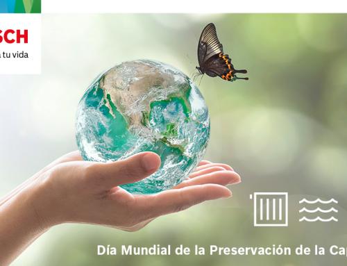 Bosch conciencia sobre la importancia de reducir la huella medioambiental