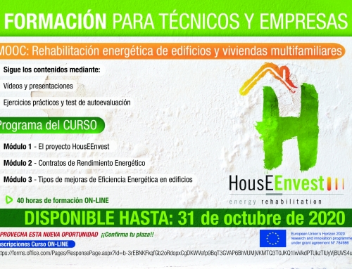 No te pierdas el curso on-line «MOOC: Rehabilitación energética de edificios y viviendas multifamiliares»