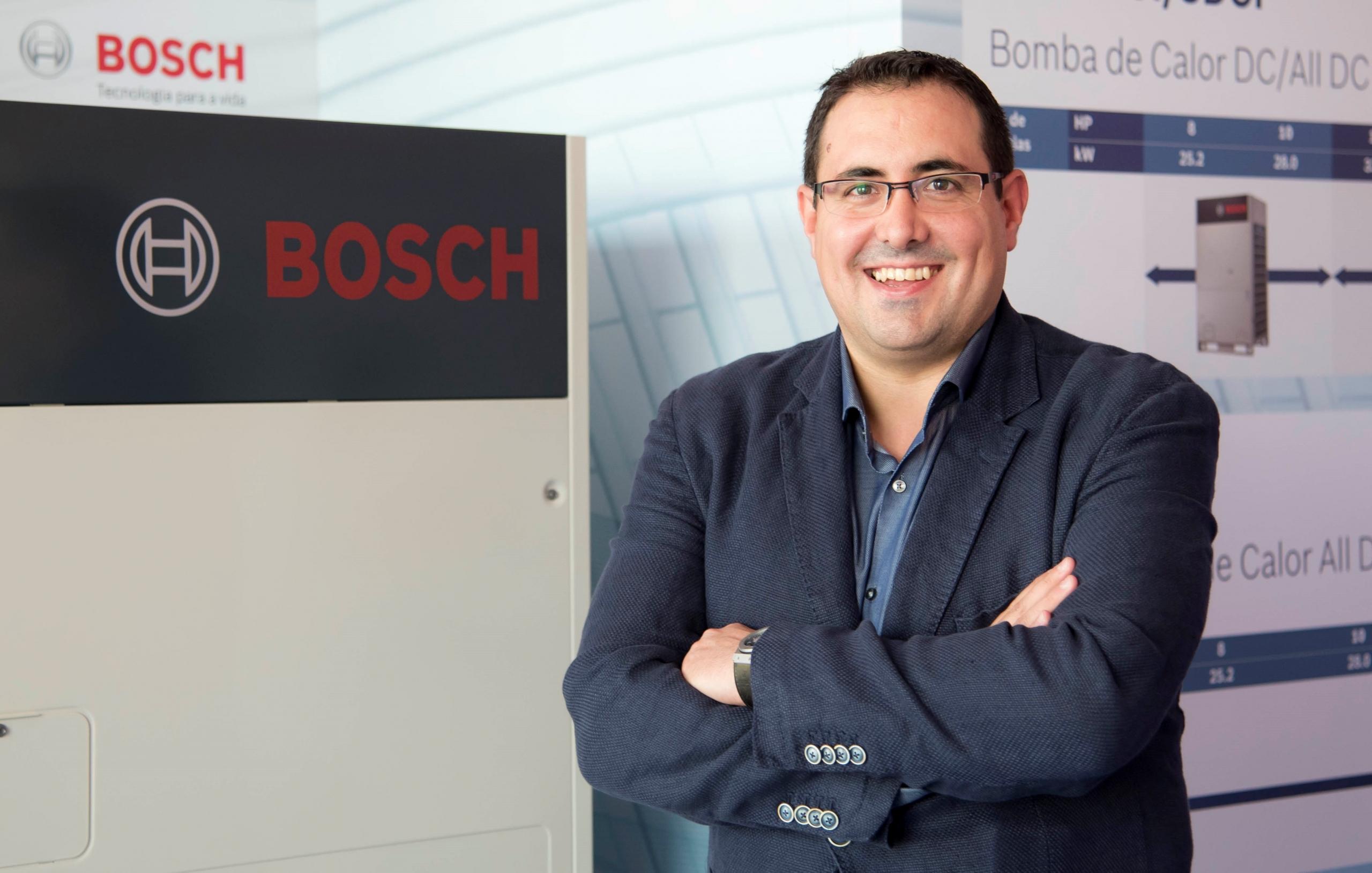 Antonio Barrón, nuevo Jefe de Ventas de la Zona Centro-Sur para Calefacción y Aire Acondicionado Comercial de Bosch Termotecnia España