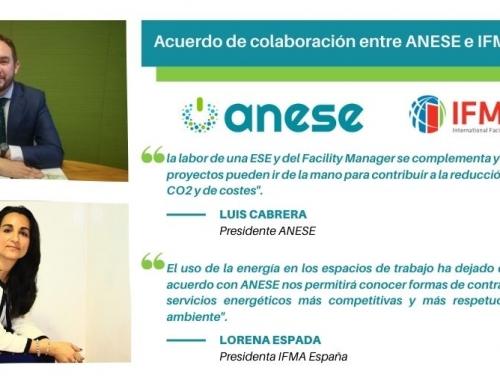 Acuerdo de Colaboración entre IFMA España y ANESE