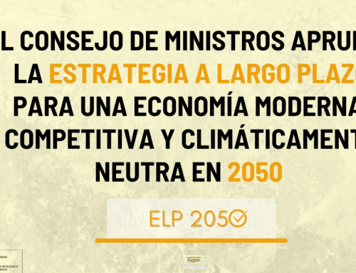Aprobada la Estrategia de Descarbonización a Largo Plazo, que marca la senda para alcanzar la neutralidad climática a 2050