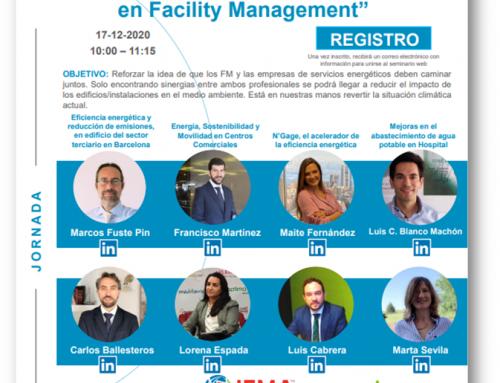 """Jornada: """"Eficiencia Energética y Sostenibilidad en Facility Management"""""""