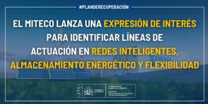 Manifestación de Interés de Proyectos de Almacenamiento, Redes Inteligentes y Sistema Eléctrico