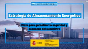 El Gobierno aprueba la Estrategia de Almacenamiento Energético, clave para garantizar la seguridad del suministro y precios más bajos de la energía