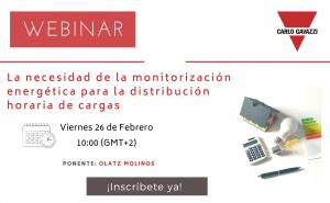 Carlo Gavazzi analiza la necesidad de la monitorización energética para la distribución horaria de cargas