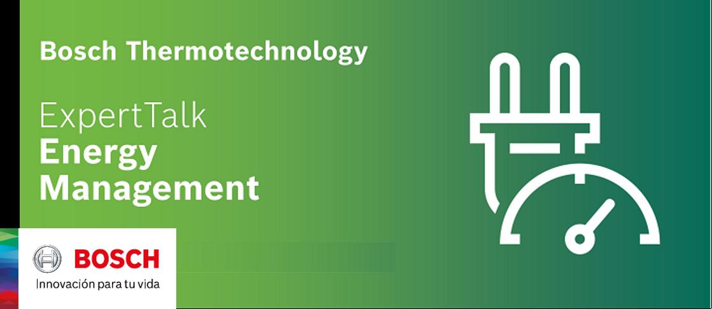 Bosch Thermotechnology ExpertTalk: visión sobre los sistemas de gestión de la energía en Europa