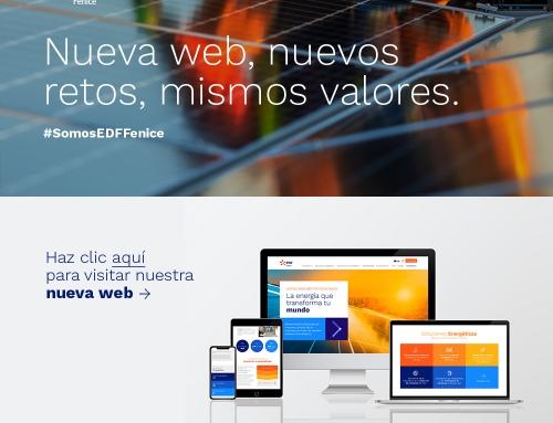 EDF Fenice presenta su nueva página web