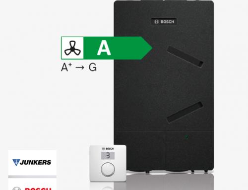 Junkers-Bosch presenta su nueva  gama de recuperadores de calor