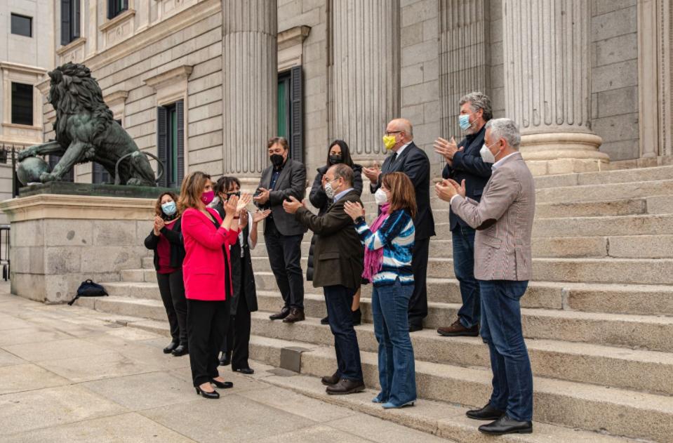 El Congreso de los Diputados aprueba de la primera Ley de Cambio Climático y Transición Energética de España