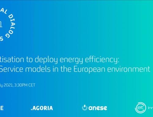 """Primer Diálogo Virtual: """"Servitización para desplegar la eficiencia energética: modelos """"as a service"""" en Europa"""", bajo el paraguas del proyecto EaaS"""