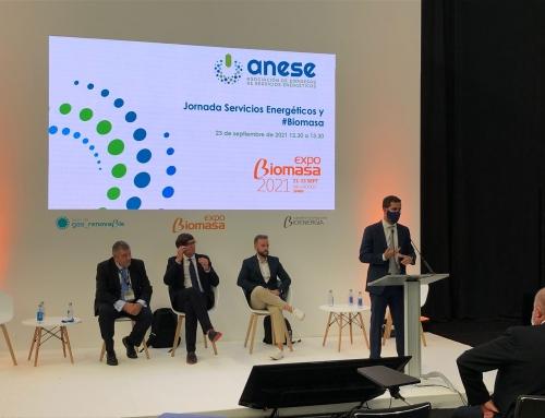 ANESE vuelve a Expobiomasa y refuerza las ventajas competitivas de las empresas de servicios energéticos
